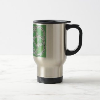 The Endless Knot of Love Travel Mug