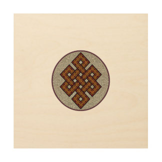 The Endless Knot Wood Prints