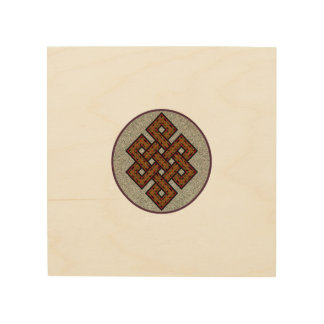 The Endless Knot Wood Wall Art