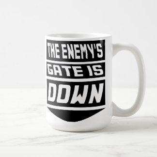 The Enemy's Gate Is Down Mug