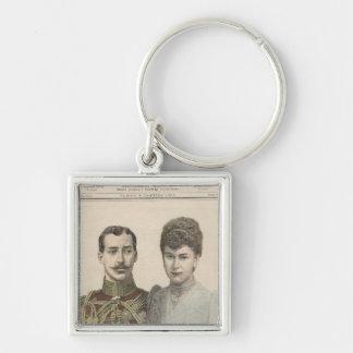 The Engagement of Albert Victor  Duke of Keychain