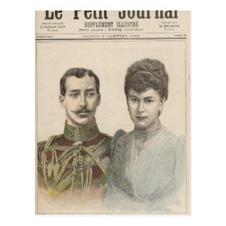 The Engagement of Albert Victor  Duke of Postcard