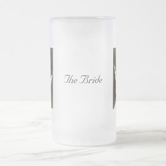 The Engagement Ring Frosted Glass Mug