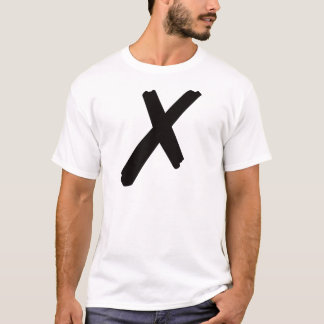 "The English American Letter ""X"" T-Shirt"