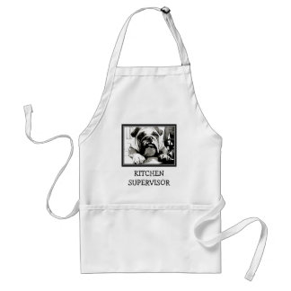 "The "" English Bulldog"" Collection Standard Apron"