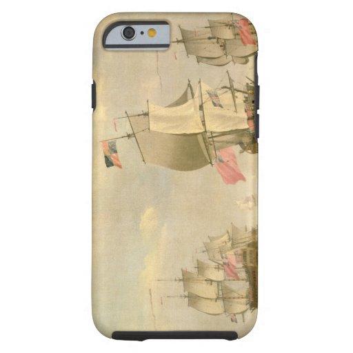 The English Fleet Under Sail iPhone 6 Case