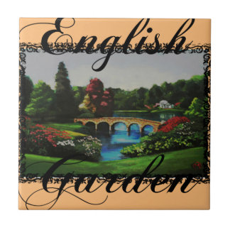 The English Garden Collection Photo Tile