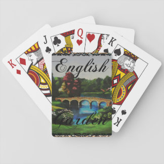 The English Garden Collection Playing Cards