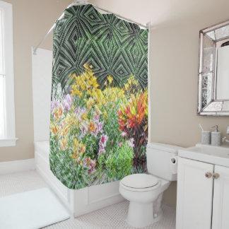 The English Garden Custom Shower Curtain