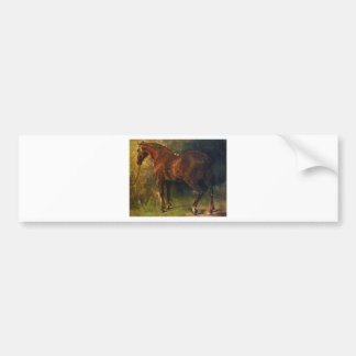 The English Horse of M. Duval by Gustave Courbet Bumper Sticker