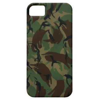 The English troop DPM camouflage iPhone 5 Cases