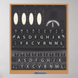 The Enigma Machine Poster
