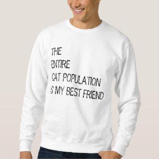 The entire cat population is my bestfriend sweater