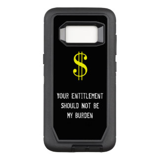 The Entitled Phone Cas OtterBox Defender Samsung Galaxy S8 Case
