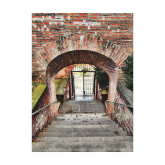 The Entrance Of The Fortress Canvas Print
