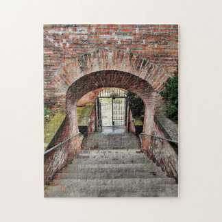 The Entrance Of The Fortress Jigsaw Puzzle