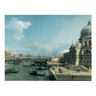 The Entrance to the Grand Canal Postcard