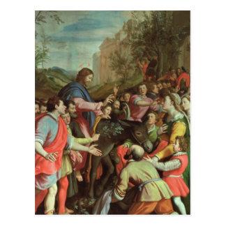 The Entry of Christ into Jerusalem Postcard
