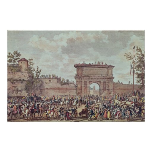 The Entry of the French into Milan Print
