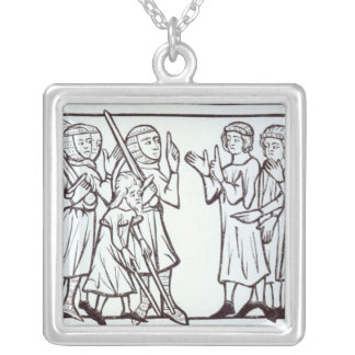The Envoys from the Soudan Silver Plated Necklace