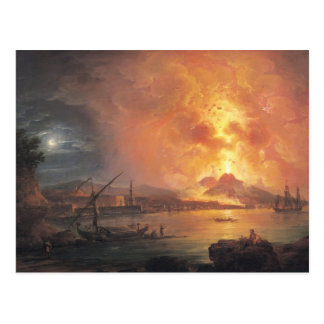 The Eruption of Vesuvius Postcard