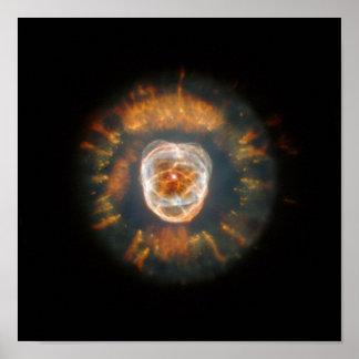 The Eskimo Nebula Poster