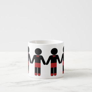 The Espresso People M-Red Brick Espresso Mug