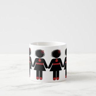 The Espresso People W-Red Brick Espresso Mug