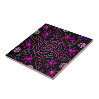 The Essence of Rose Tile