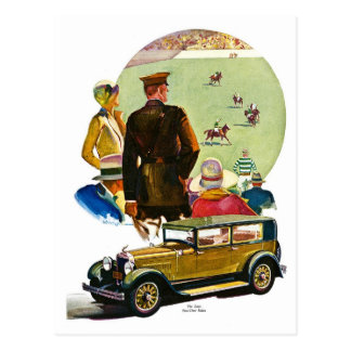 The Essex Four-Door Sedan Postcard