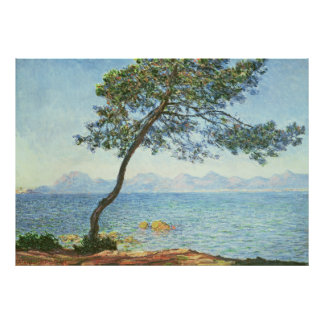 The Esterel Mountains - Claude Monet Poster