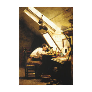 The Etcher by Stacy Tolman Canvas Print