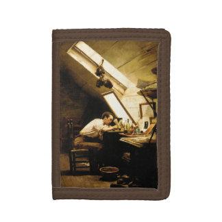 The Etcher by Stacy Tolman Tri-fold Wallets