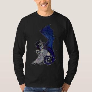 The Eternal Embrace Unicorn and Dragon T-Shirt