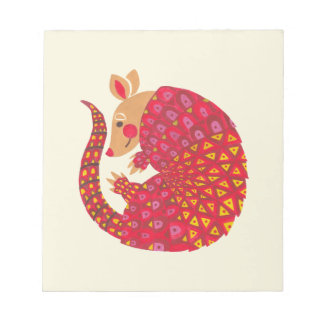 The Ethnic Armadillo Notepad