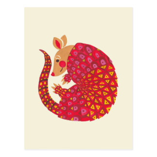 The Ethnic Armadillo Postcard