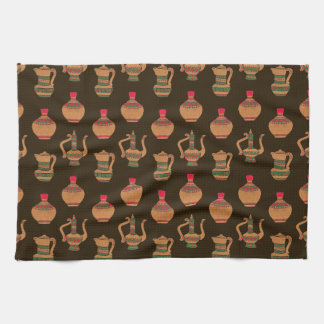 The Ethnic Water Jug Pottery Hand Towels