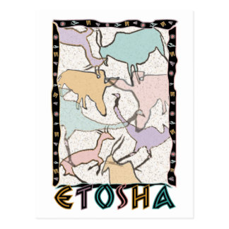 The Etosha Postcard