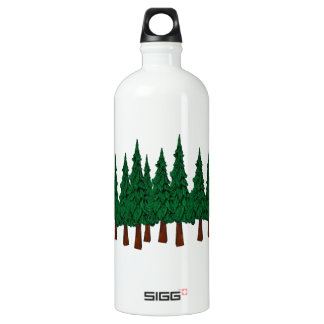 The Evergreen Forest Water Bottle