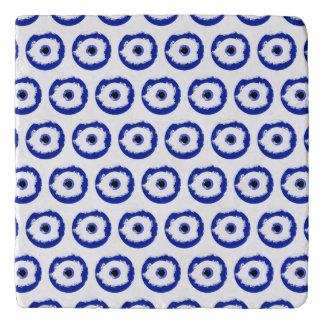 The Evil Eye Pattern Trivet