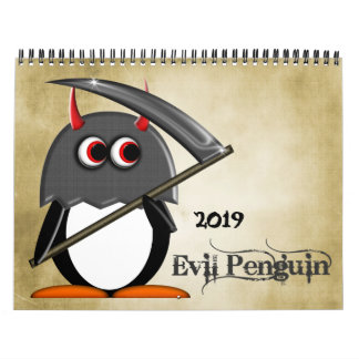 The EVIL PENGUIN™ Cartoon CALENDAR 2016
