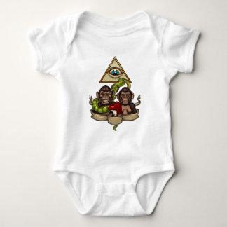 The evolution baby bodysuit