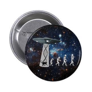 The Evolution Conspiracy 6 Cm Round Badge