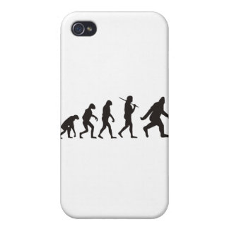 The Evolution Of Bigfoot iPhone 4 Covers
