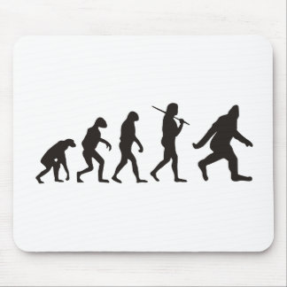 The Evolution Of Bigfoot Mouse Pads