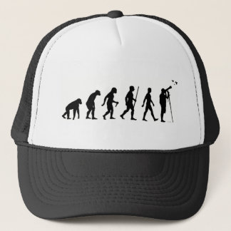 The evolution of birding trucker hat