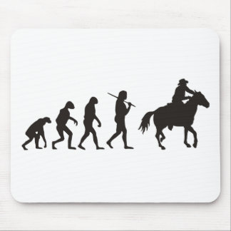 The Evolution Of Cowboy Mouse Pads