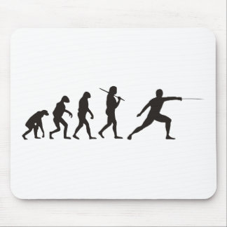 The Evolution Of Fencing Mouse Pad