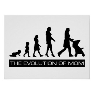 The Evolution of Mom Posters