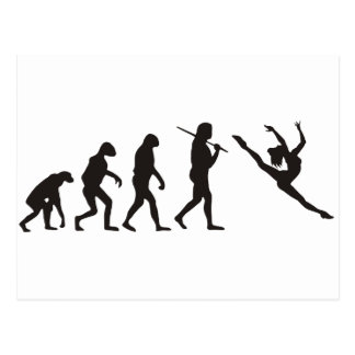The Evolution of the Dancer Postcard